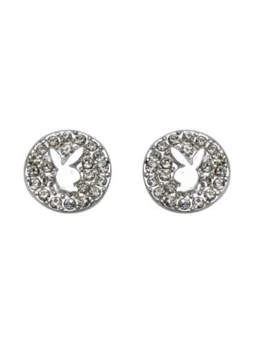Playboy Orecchini coniglietto argento