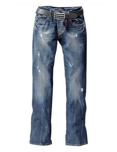 Jeans uomo denim in cotone Joe Devin