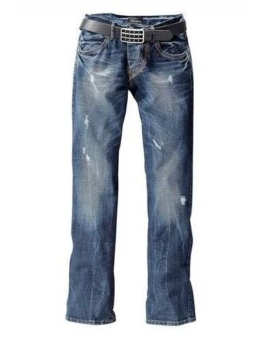 Jeans uomo denim in cotone John Devin