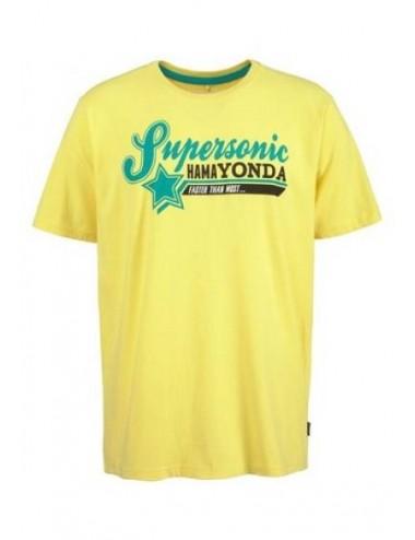 T-shirt Blend maglietta uomo gialla in cotone