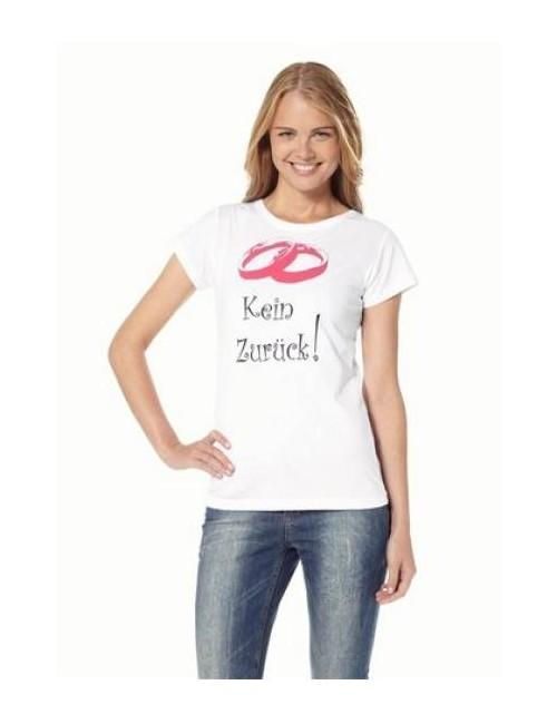 """T-Shirt """"kein zurü"""