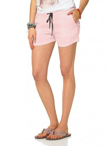 Bermuda donna rosa pantaloncino corto sportivo