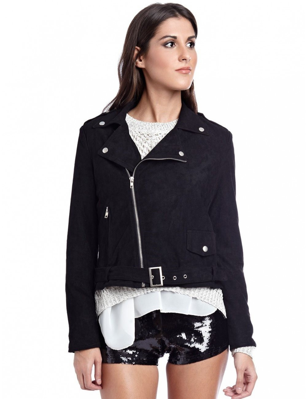 giacca sportiva donna nera