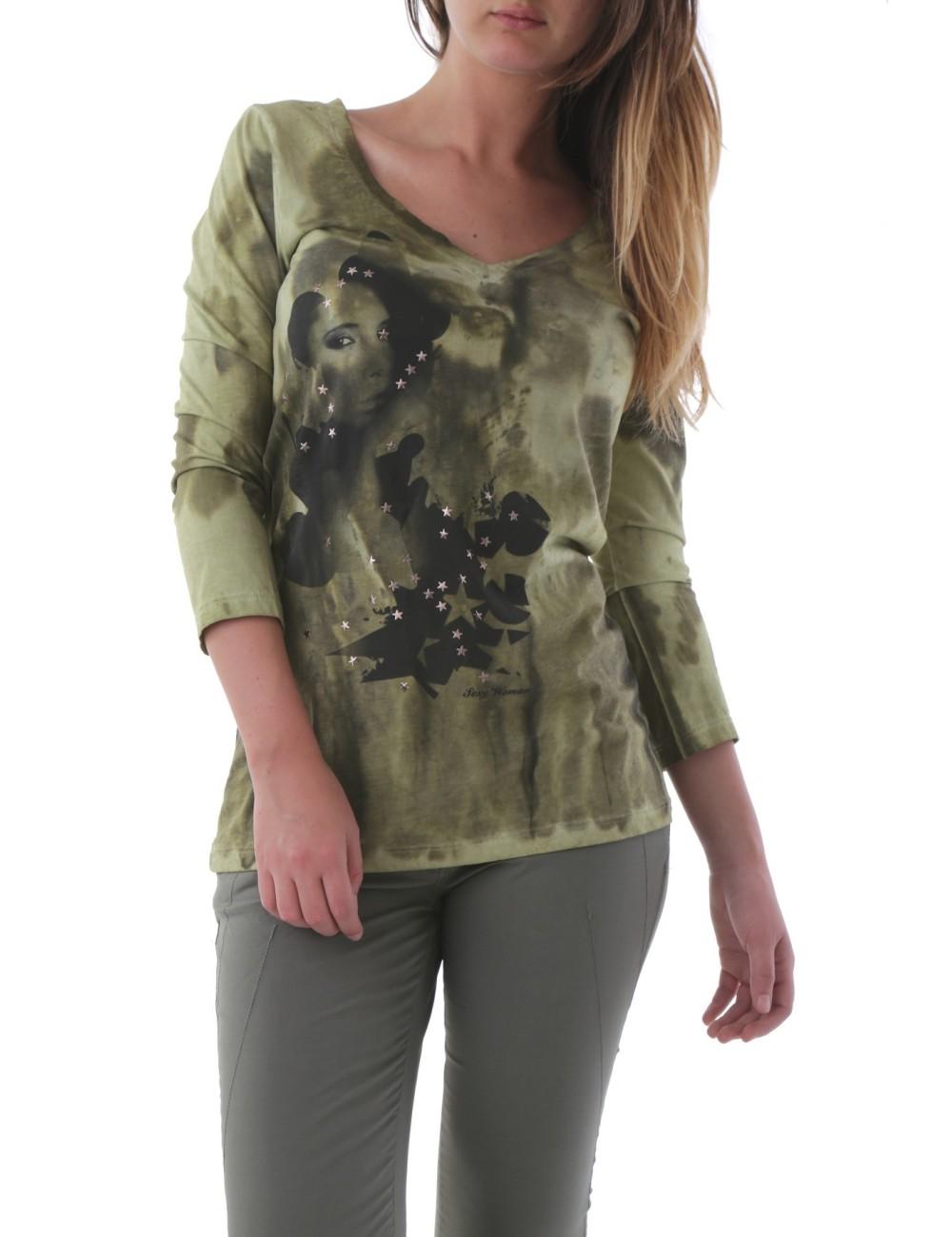 T-shirt Sexy Woman F0038