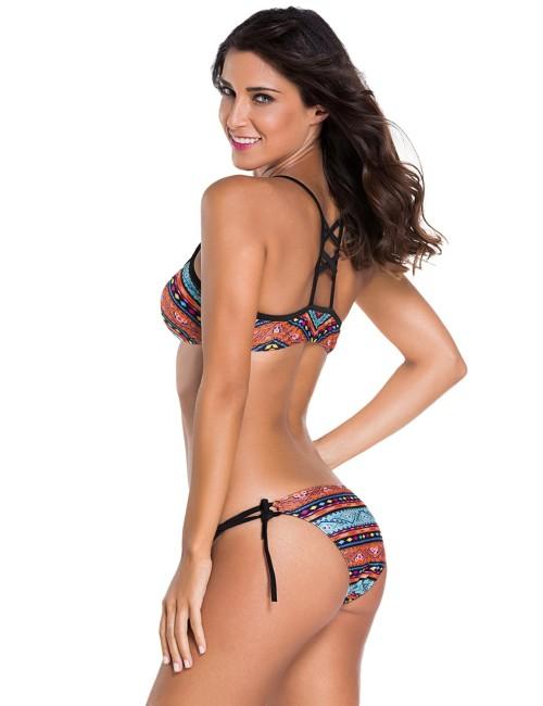 Bikini fascia multicolor