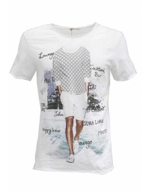 T-shirt Man Print