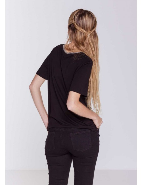 T-shirt Tasca Black