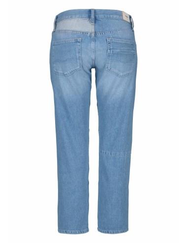 Jeans Donna Pepe Jean 3/4 In doppio Tessuto Denim
