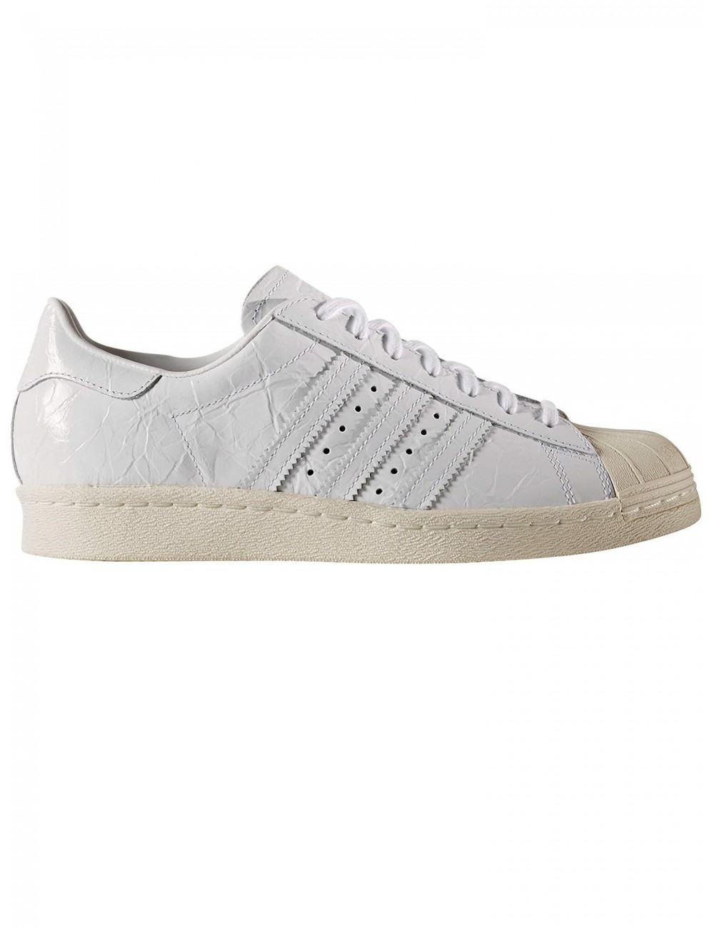 reputable site 49647 ef6e8 Scarpe Adidas Superstar 80s Donna Bianche in Pelle vintage